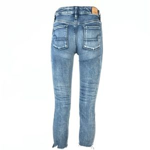 AE high rise jegging crop jeans 00 short